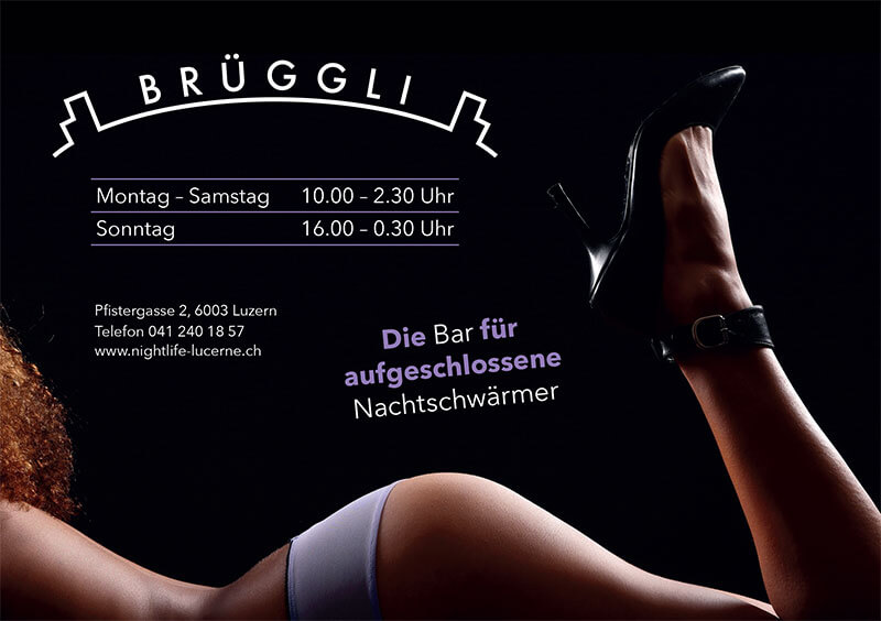erotikfind.ch | BRÜGGLI BAR - Diskrete Single Bar im Herzen Luzerns
