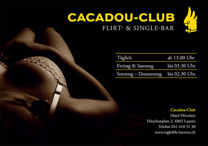 erotikfind.ch | CACADOU CLUB Tanz-Café und Single-Bar
