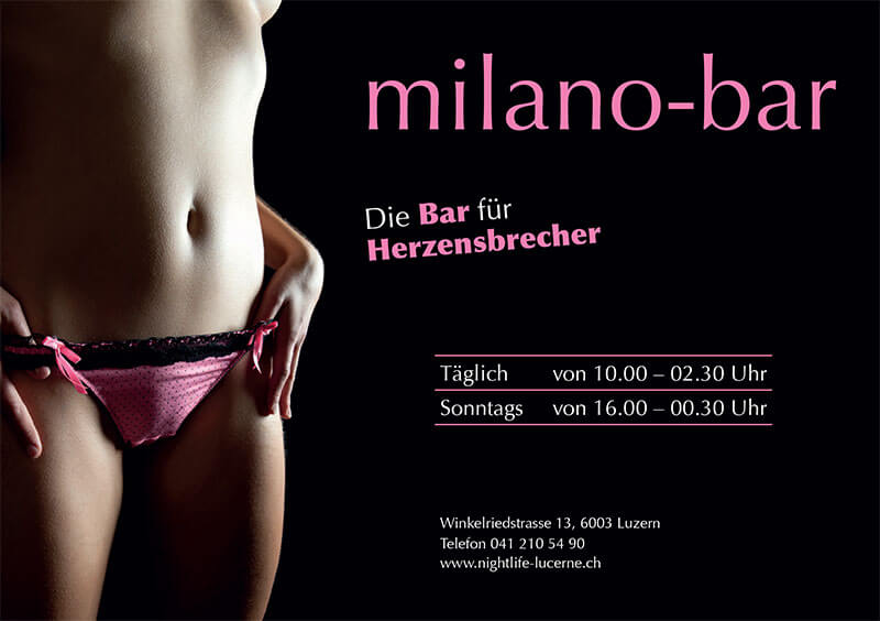 MILANO BAR - Flirt+Single Bar für Herzensbrecher in Luzern