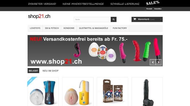 erotikfind.ch | Shop21.ch Diskreter Erotikshop