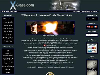 Glas Dildo Online Shop
